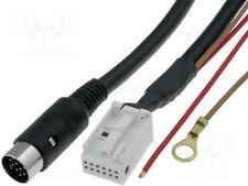 Cable para cambiador de CD; DIN Enchufe 13pin, Quadlock 12pin; AUDI, VW [1 piezas]