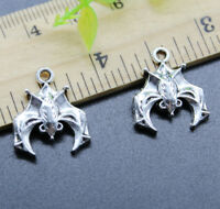 Free Shipping Cute Bat Jewelry Making DIY Alloy Charms Pendant 20*17mm