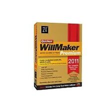 Quicken WillMaker Premium 2011 - Living Trust Maker - Estate Planning Software