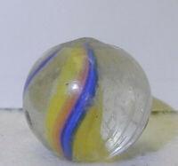 8732m Vintage German Handmade Swirl Marble .68 Inches