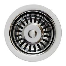 "Whitehaus 3.5"" Polished Chrome Garbage Disposal Trim for Kitchen Sinks WH-202-P"