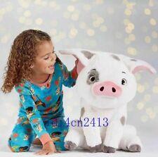"Jumbo Moana Pua Plush Doll Stuffed Pig Toy Fluffy Cushion 17"" Rare Kid Gift"