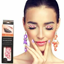 Pink Romantic Flower Stickers  Eye Lid Temporary Eye Tattoos Lid  EyeShadow Brow