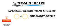 "2 x ""Upgraded"" Buddy Bottle O Ring Seals for Theoben Rapid 7 / BSA"
