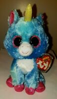 "Ty Beanie Boos - STITCHES the Unicorn 6"" (Michael's Exclusive) NEW MWMT"