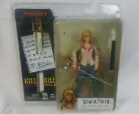 Kill Bill Vol 2 Beatrix Kiddo AKA  The Bride NECA action figure brand new sealed