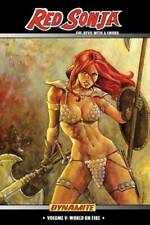 Red Sonja She-Devil with a Sword Volume 5 World on Fire GN Oeming Conan New NM