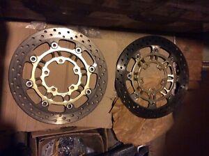 Triumph 675 front brake disc