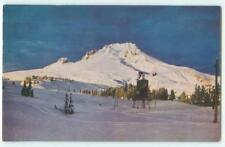 Oregon Ski Tow at Timberline Lodge Mike Roberts 1960s Chrome Postcard 25270