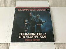 TERMINATOR 2-NEW STILL IN SHRINK 2X LaserDisc-1993 SPECIAL ED. SCHWARZENEGGER LD