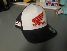 Fox Racing Honda Baseball MX Hat Cap Flexfit L/XL Midnight 21109-329-L/XL