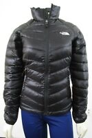 Womens The North Face TNF Flare Full Zip 550-Down Winter Packable Jacket Black