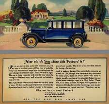 Packard 1929 - How Old Do You Think This Packard Is?