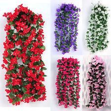 Efeuranke Kunstblumen Girlande Chlorophytum Raken Deko Blumenranke Seidenblumen