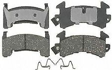 ACDelco 17D154MH Front Semi Metallic Brake Pads