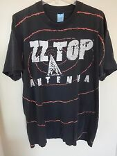 "Vintage Zz Top - Graphic Printed ""Antenna"" World Tour 1994 T-Shirt Men Xl"
