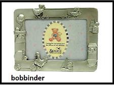 "SEAGULL PEWTER BABY BIRTH RECORD Picture Frame 3.5"" x 5""  # PF-193S NEW"