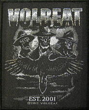 "VOLBEAT PATCH / AUFNÄHER # 4 ""EST. 2001"""