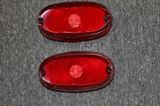 1957 Pontiac Tail Light Lenses