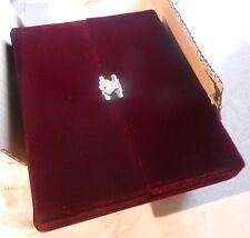 """NEW Velvet Necklace Jewelry Gift Box Case Display 9 1/4x7x1"""""""