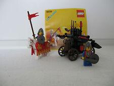 Lego Castle, Ritter, Set 6039, Zwillingskatapult der Löwenritter, Jahr 1988 + BA