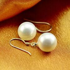 Mode-Ohrschmuck im Hänger-Stil aus Sterlingsilber mit Perlen (Imitation)