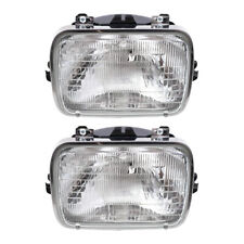 Pair Halogen Headlight Capsules for Chevy Buick Cadillac Oldsmobile Pontiac GMC