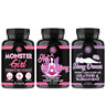 Women's Weight Loss w/ Monster Girl, Hot & Skinny, Skinny Dreams Sleep Aid, 3 PK