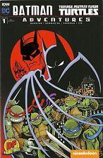 BATMAN TEENAGE MUTANT NINJA TURTLES ADVENTURES #1 DF VARIANT SKETCHED HAESER