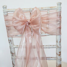 SILK ORGANZA CHAIR SASH HOOD AND TABLE RUNNER 11 COLOURS WEDDING CHAIRS EVENT