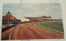 Vintage Postcard Pimlico Race Course Horse Races Since 1870