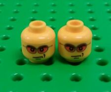 *NEW* Lego Faces Sunglasses Heads for Minifigures Figs Spares - 2 pieces