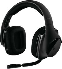 Logitech G533 Wireless Black Headband Headsets for PC DTS 7.1 GAMING HEADSET