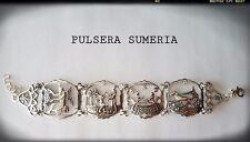 PULSERA SUMERIA / SUMERIAN  BRACELET ENKI ENLIL SILVER 925 ml PLATA