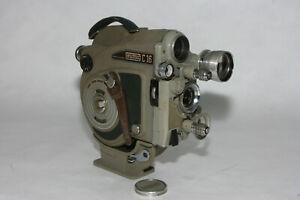 Eumig C 16 R #511735 16mm Filmkamera mit 1,9/25mm Eumigar, Eumacronar 2x