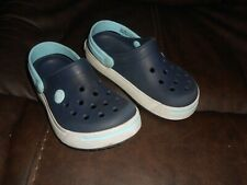 Crocs For Kids Classic Clogs Shoes Size 10 / 11 Blue