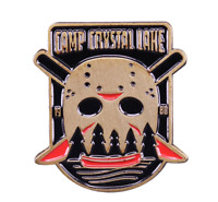 Jason Voorhees Enamel Pin Friday the 13th Horror Movie Lapel Pin Halloween