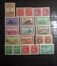 lot older Canada  stamp mint OG LH
