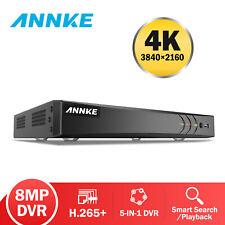 ANNKE Ultra HD 4K 8CH DVR 8MP Security Video Recorder CCTV Smart Search Playback
