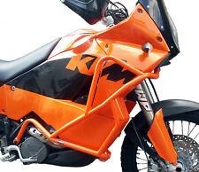 Defensa protector de motor Heed KTM 950 Adventure (02-06) - naranja + Bolsas