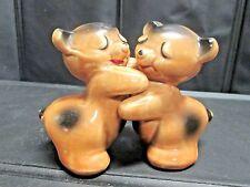 Vintage Van Tellingen Bear Hug Salt & Pepper Shakers