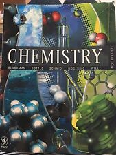 Wiley: Chemistry 2nd Edition - Blackman, Bottle, Schmid, Mocerino, Wille (2012)