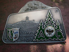 ADAC-altenauer AUTOMOBILE CLUB-PLACCA BADGE Altenau