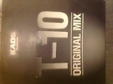 """Distorted Minds- T-10 /The Tenth Planet 12"""" Kaos Recs Drum and Bass Vinyl"""