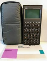 HP 48SX Scientific Expandable Calculator Hewlett Packard w/Quick Reference Guide