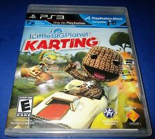 LittleBigPlanet Karting Sony PlayStation 3 *Factory Sealed! *Free Shipping!