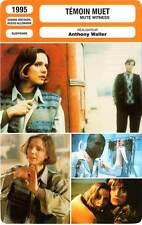 FICHE CINEMA : TEMOIN MUET - Zudina,Ripley,Waller 1995 Mute Witness