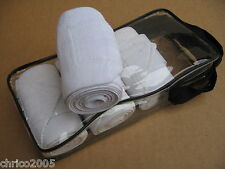 Bandagen 4 Stück aus Baumwolle weiß