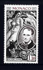 MONACO - 1972 - 150° anniversario della nascita di Charles Baudelaire, scrittore