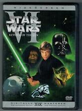 STAR WARS VI RETURN OF THE JEDI WIDESCREEN DVD episode six 6 wide screen